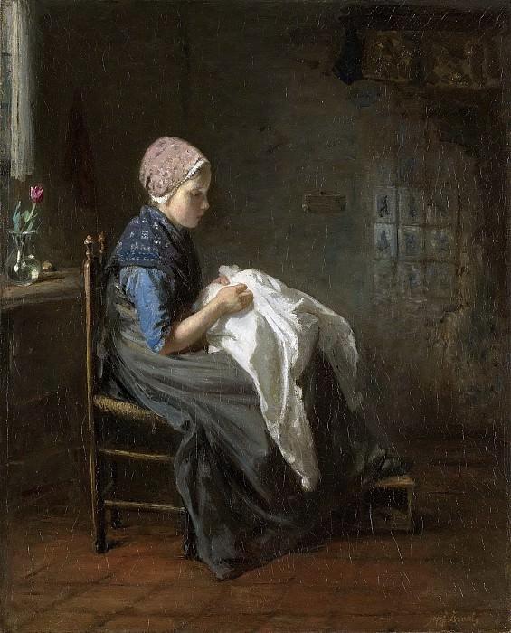 Israëls, Jozef -- Het naaistertje, 1850-1888. Rijksmuseum: part 3