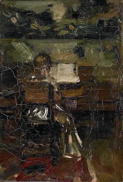 Maris, Jacob -- Meisje aan de piano, 1889. Rijksmuseum: part 3