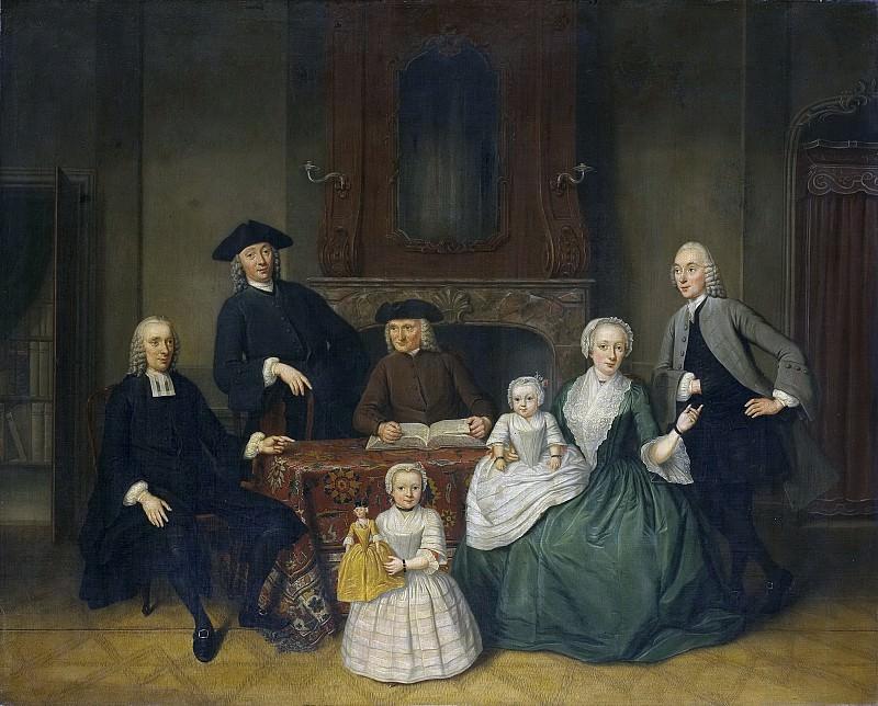 Тибоут Регтерс -- Уважаемое амстердамское семейство Брак, 1752. Рейксмузеум: часть 3