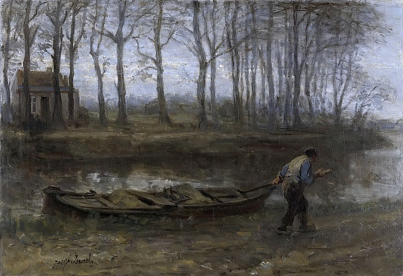Йозеф Исраэлс -- Перевозчик песка, 1887. Рейксмузеум: часть 3