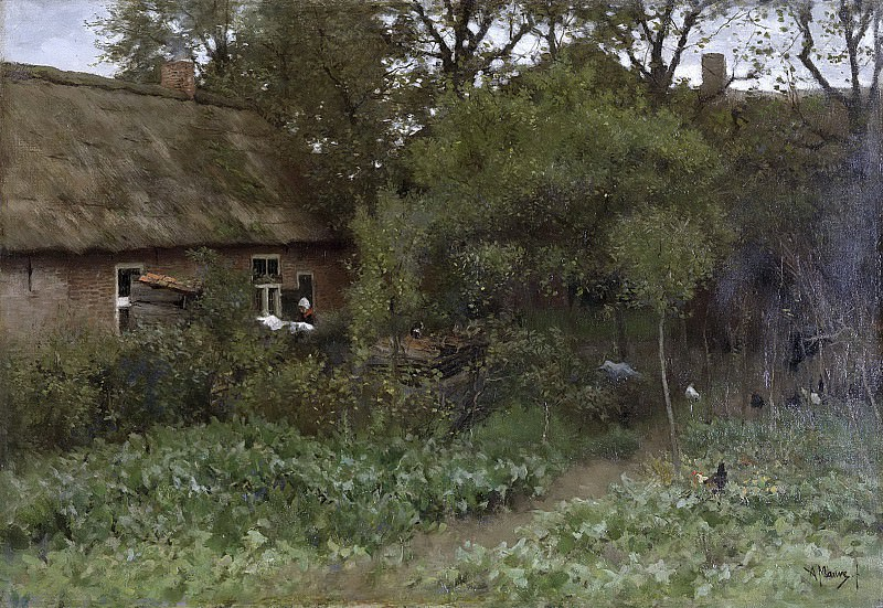 Mauve, Anton -- De moestuin, 1885-1888. Rijksmuseum: part 3