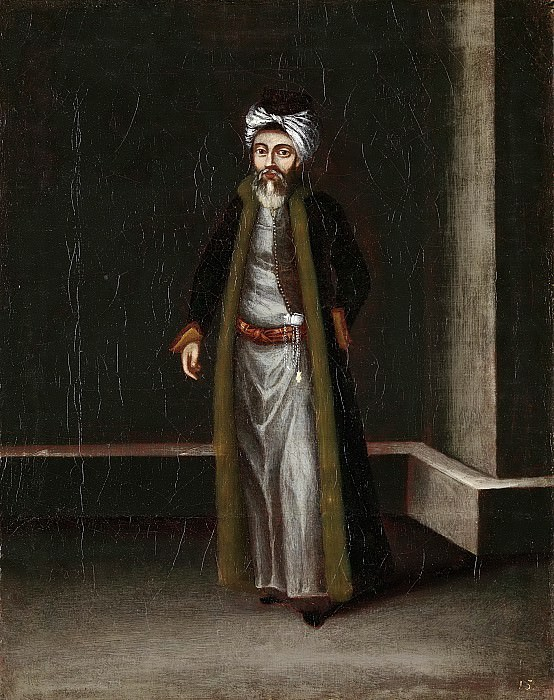 Жан Батист Ванмур -- Еврей-меняла, 1700-1737. Рейксмузеум: часть 3