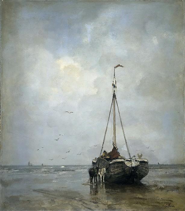 Maris, Jacob -- Bomschuit op het Scheveningse strand, 1885. Rijksmuseum: part 3