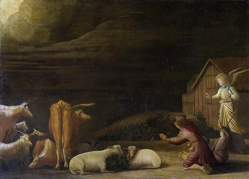 Дирк Вейнтрак -- Благовестие пастухам, 1670. Рейксмузеум: часть 3