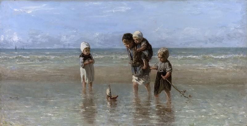 Israëls, Jozef -- Kinderen der zee, 1872. Rijksmuseum: part 3