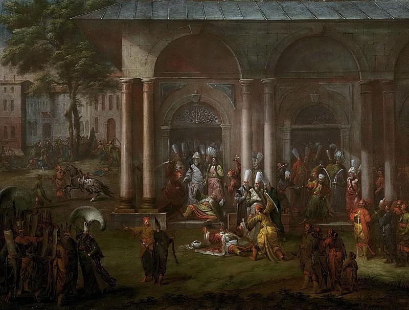 Жан Батист Ванмур -- Убийство патроны Халиль и ее последователей, 1730-1737. Рейксмузеум: часть 3