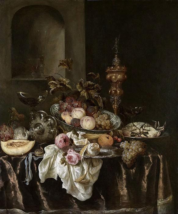 Beyeren, Abraham Hendricksz. van -- Stilleven, 1640-1680. Rijksmuseum: part 3