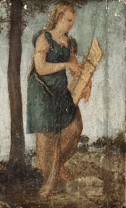 Sustris, Lambert -- Vrouw met schild, 1540-1570. Rijksmuseum: part 3