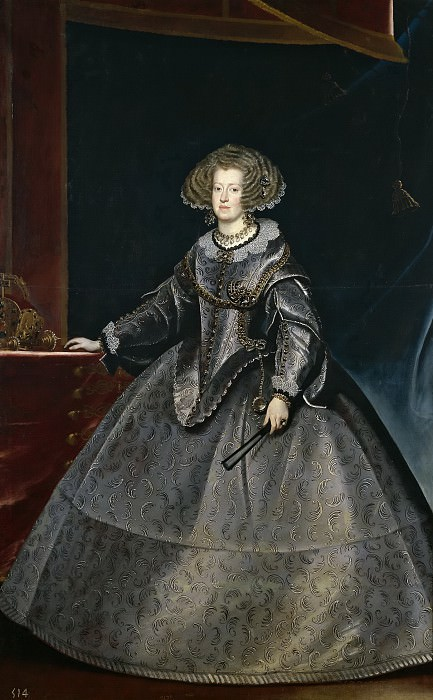 Luycks, Frans -- María de Austria, reina de Hungría. Part 3 Prado Museum