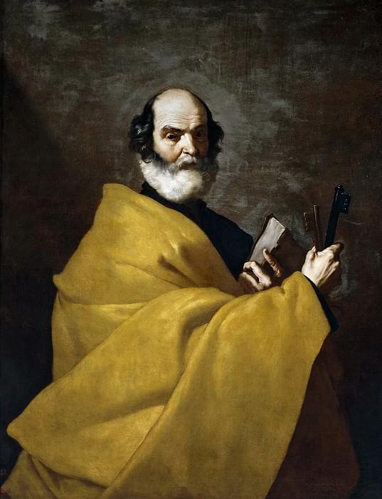 Ribera, José de -- San Pedro. Part 3 Prado Museum