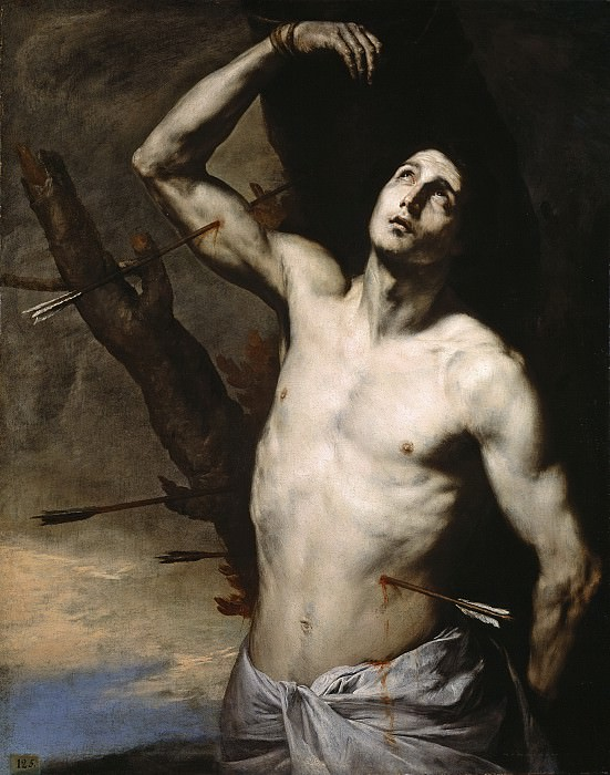 Ribera, José de -- San Sebastián. Part 3 Prado Museum