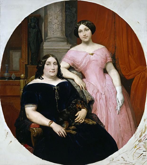 Ribera y Fieve, Carlos Luis de -- Magdalena Parrella y su hija Elisa Tapia. Part 3 Prado Museum