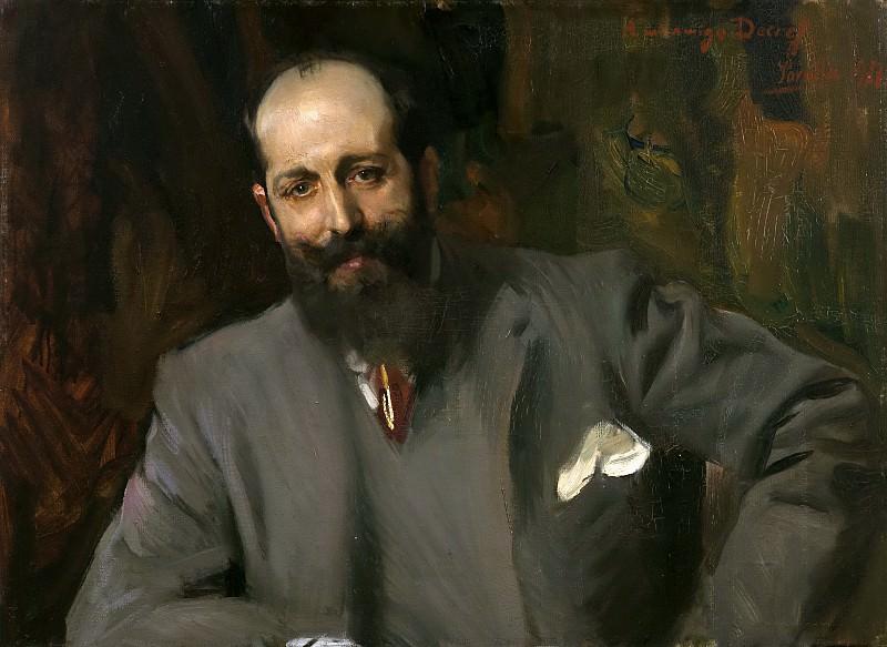 Sorolla y Bastida, Joaquín -- El doctor Joaquín Decref y Ruiz. Part 3 Prado Museum