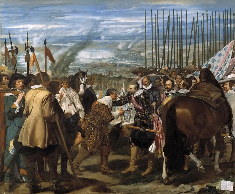 La Rendición de Breda. Diego Rodriguez De Silva y Velazquez