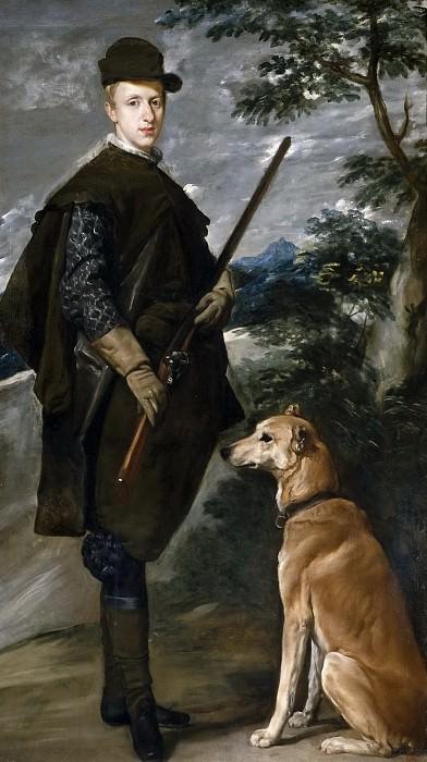 Velázquez, Diego Rodríguez de Silva y -- El cardenal-infante Fernando de Austria. Part 3 Prado Museum