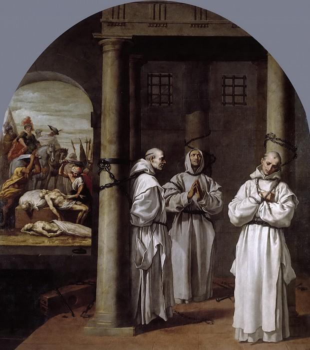 Кардучо, Висенте -- Мученичество английских картезианских настоятелей в Лондоне, Ноттингеме и Аксхольме. Часть 3 Музей Прадо