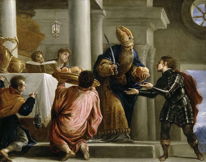Эскаланте, Хуан Антонио де Фриас -- Ахимелех передает хлеб и меч Давида первосвященнику. Часть 3 Музей Прадо