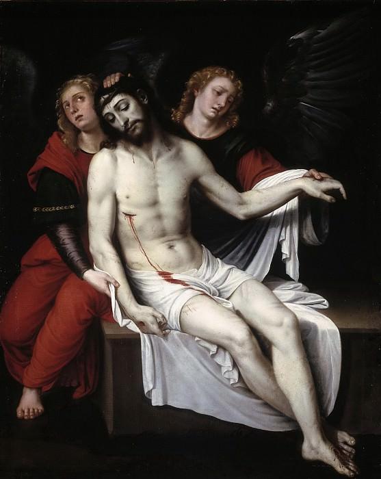 Ribalta, Francisco -- Cristo muerto sostenido por dos ángeles. Part 3 Prado Museum