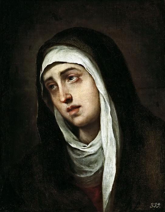 Murillo, Bartolomé Esteban -- La Dolorosa. Part 3 Prado Museum