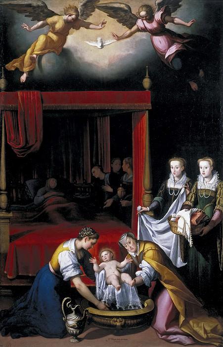 Пантоха де ла Крус, Хуан -- Рождение Богородицы. Часть 3 Музей Прадо
