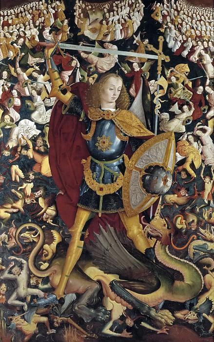 Maestro de Zafra -- San Miguel Arcángel. Part 3 Prado Museum