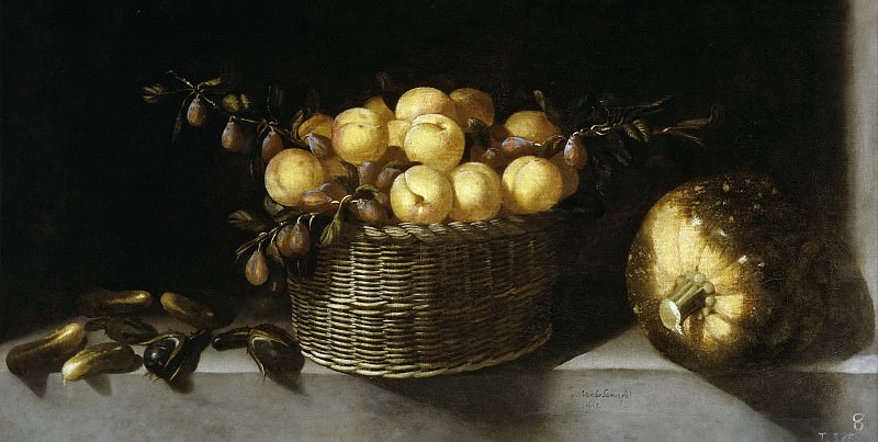 Hamen y León, Juan van der -- Bodegón de frutas y hortalizas. Part 3 Prado Museum