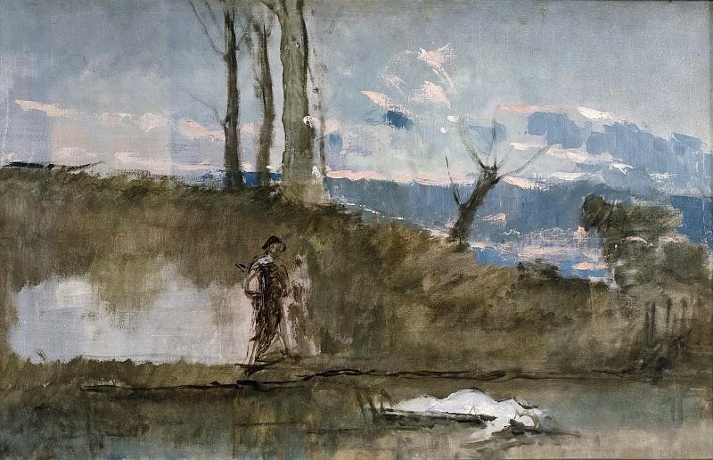 Rosales Gallinas, Eduardo -- Ofelia. Part 3 Prado Museum