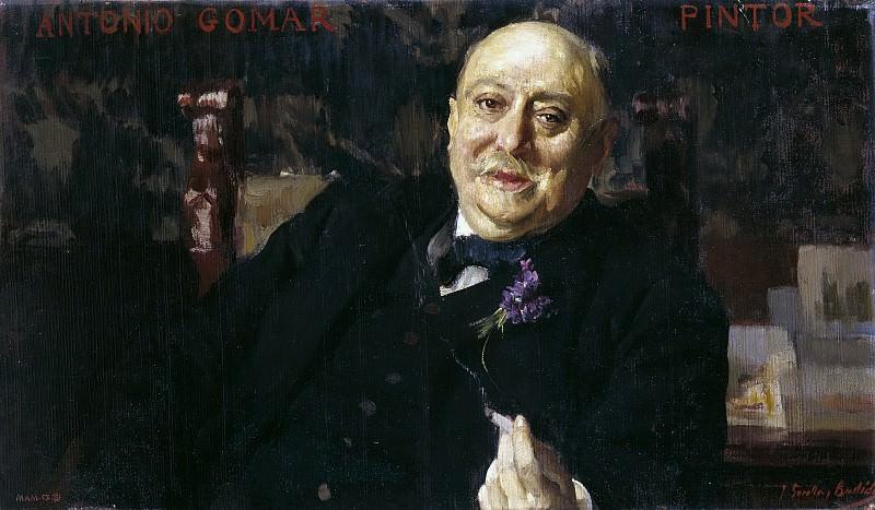 Sorolla y Bastida, Joaquín -- El pintor Antonio Gomar y Gomar. Part 3 Prado Museum