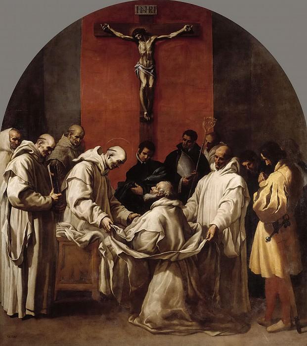 Carducho, Vicente -- El obispo Hugo toma el hábito de cartujo. Part 3 Prado Museum