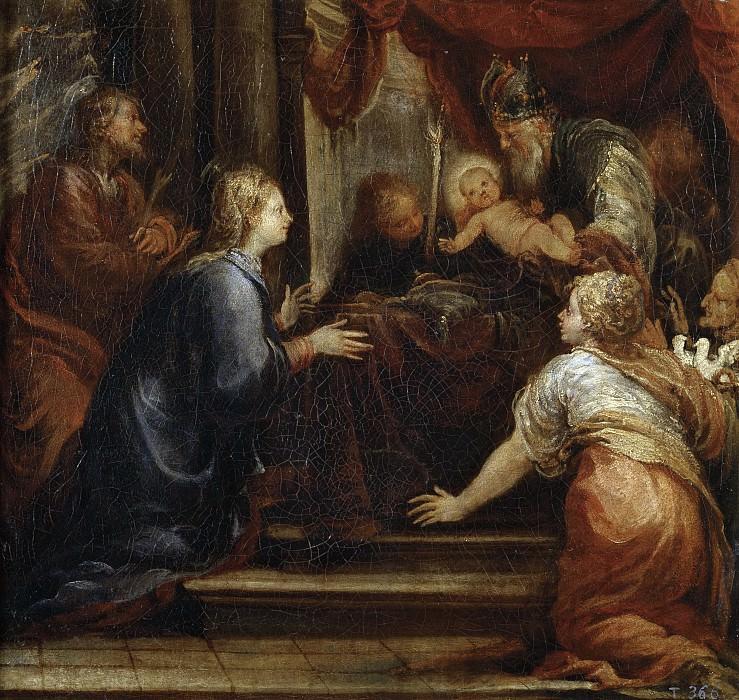 Rizi, Francisco -- La Presentación de Jesús en el Templo. Part 3 Prado Museum