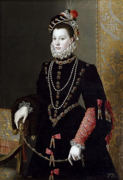 Pantoja de la Cruz, Juan -- La reina Isabel de Valois, tercera esposa de Felipe II. Part 3 Prado Museum