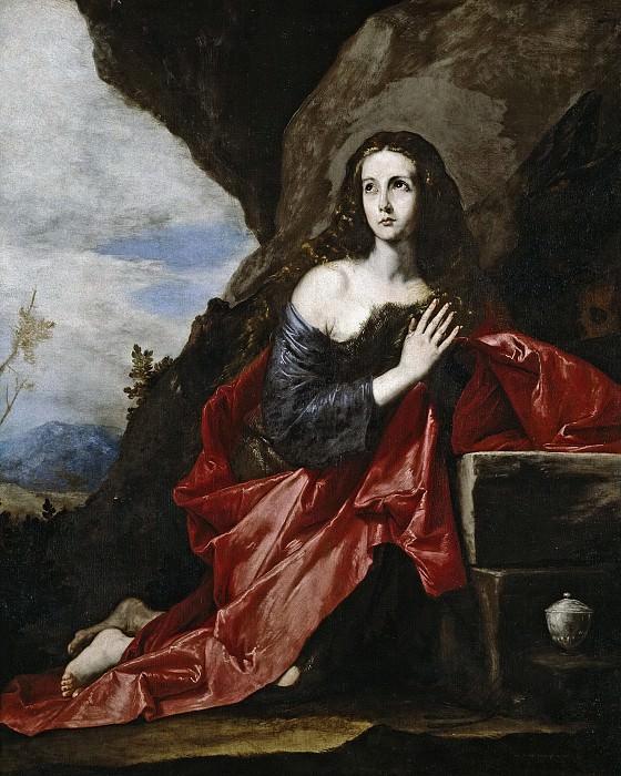 Ribera, José de -- La Magdalena, o Santa Taís. Part 3 Prado Museum