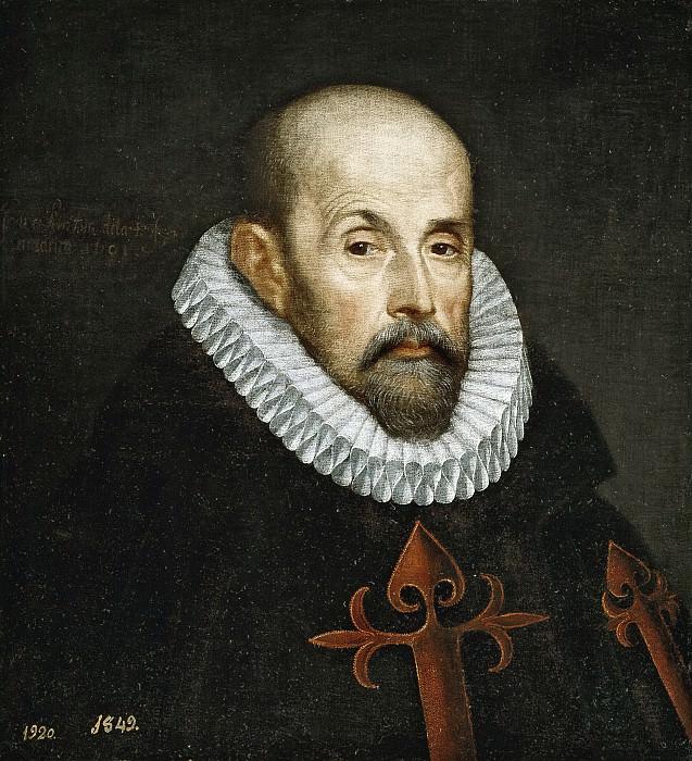 Pantoja de la Cruz, Juan -- Un caballero santiaguista. Part 3 Prado Museum