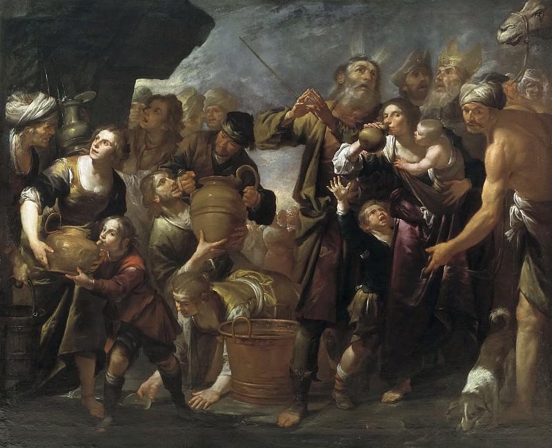 Assereto, Gioacchino -- Moisés y el agua de la roca. Part 3 Prado Museum