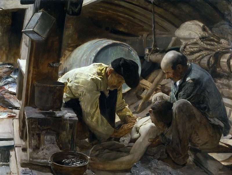 Sorolla y Bastida, Joaquín -- ¡Aún dicen que el pescado es caro!. Part 3 Prado Museum