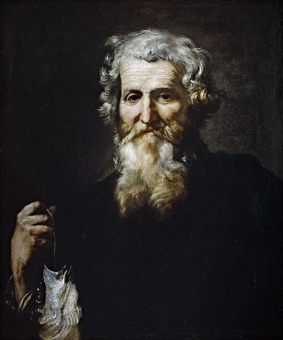 Ribera, José de -- San Andrés. Part 3 Prado Museum
