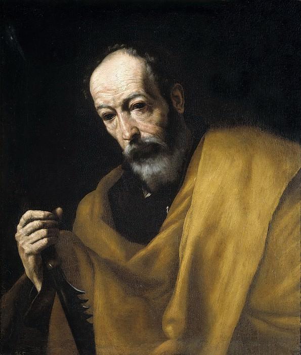 Ribera, José de -- San Simón. Part 3 Prado Museum