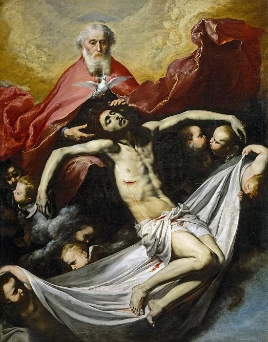 Ribera, José de -- La Trinidad. Part 3 Prado Museum