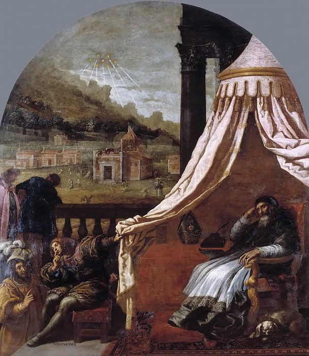Carducho, Vicente -- La visión de San Hugo, obispo de Grenoble. Part 3 Prado Museum