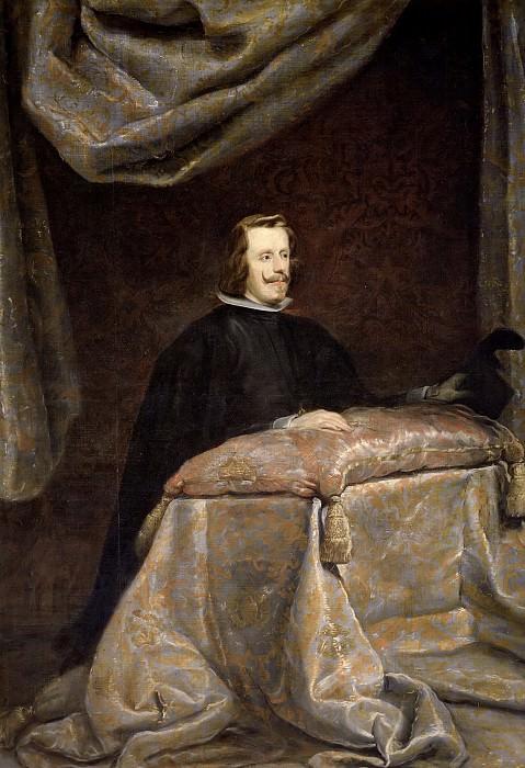 Velázquez, Diego Rodríguez de Silva y (Taller de) -- Felipe IV, orante. Part 3 Prado Museum