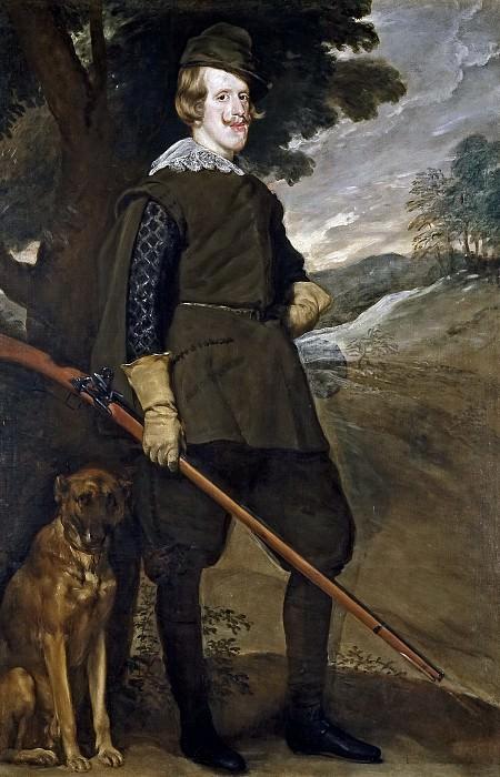 Филипп IV на охоте. Диего Родригес де Сильва и Веласкес