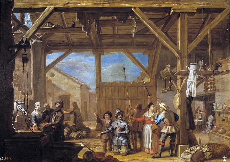 Ириарте, Валерио -- Посвящение Дона Кихота в рыцари. Часть 3 Музей Прадо