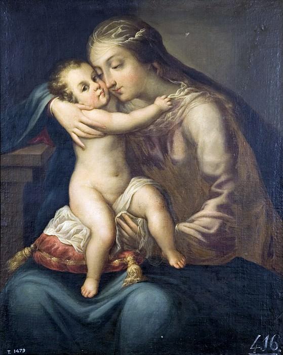 Anónimo -- La Virgen con el Niño. Part 3 Prado Museum