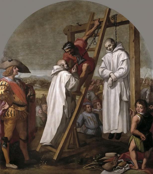 Carducho, Vicente -- Martirio de los padres John Rochester y James Walworth. Part 3 Prado Museum