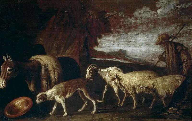 Orrente, Pedro de -- La vuelta al aprisco. Part 3 Prado Museum