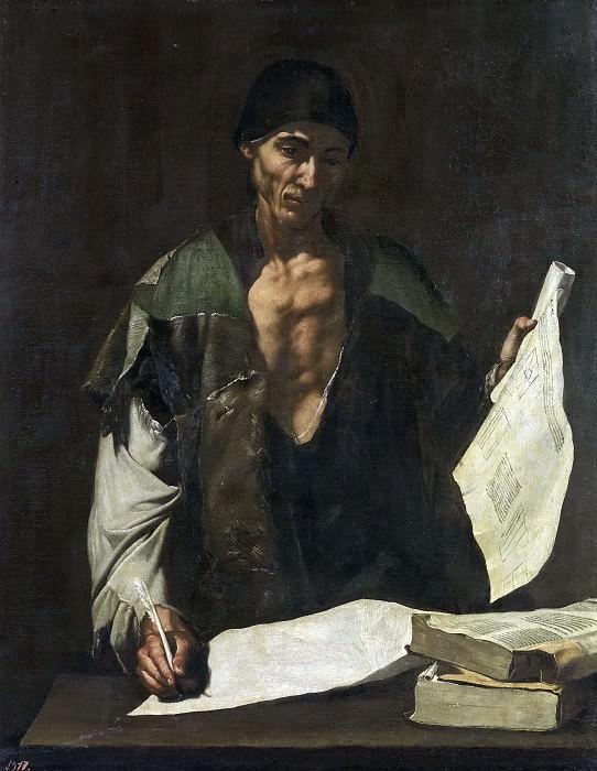 Ribera, José de -- Arquímedes. Part 3 Prado Museum