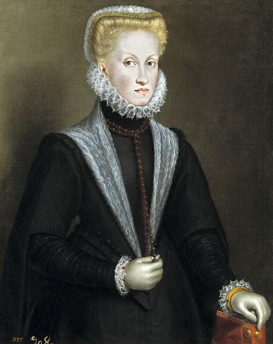 Anguissola, Sofonisba -- La reina Ana de Austria. Part 3 Prado Museum