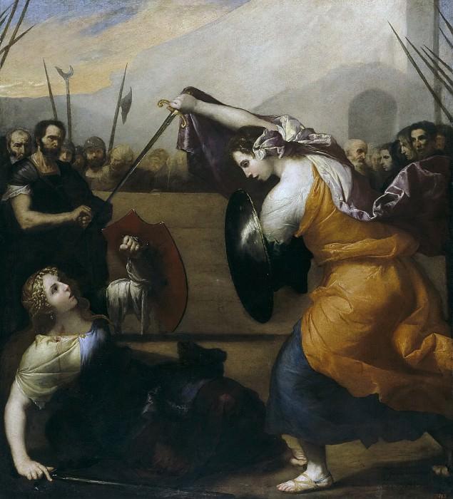 Ribera, José de -- Combate de mujeres. Part 3 Prado Museum