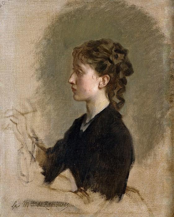 Madrazo y Kuntz, Federico de -- Louise Amour Marie de La Roche-Fontenilles, marquesa de Rambures. Part 3 Prado Museum