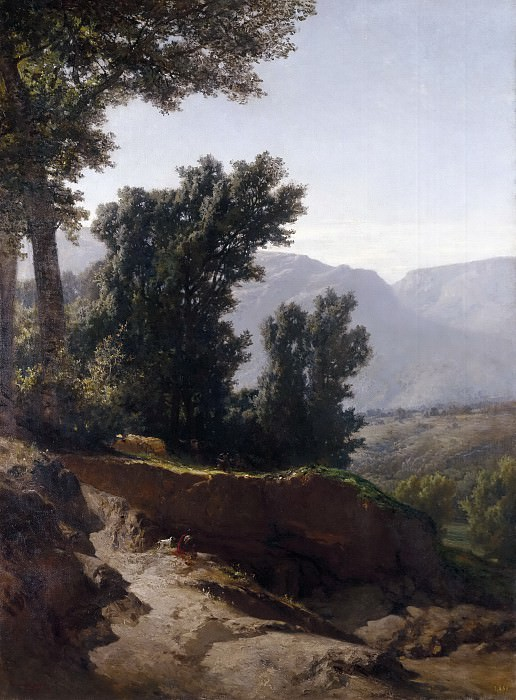 Haes, Carlos de -- Cercanías de Madrid. Part 3 Prado Museum